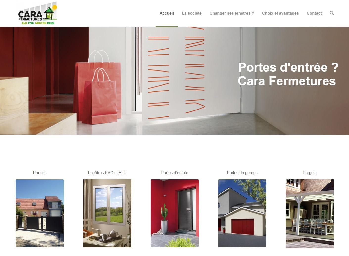 Cara Fermetures, spécialiste en vente et pose de portes et fenêtres
